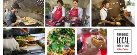 A Chaque Food Truck Sa Specialite Culinaire Mangeons Local En